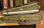 S2011R Superleggero Royale dart-shaped violin case