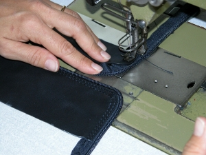 Case covers are sewn with double and sometimes triple stitching to ensure a long duration.